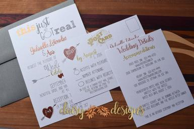 Mixed Foils Invite suite