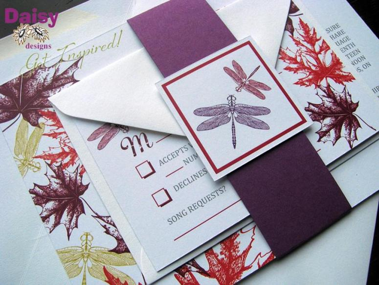 Autumn Dragonfly Suite