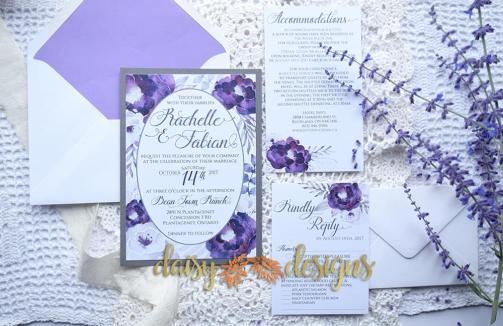 Purple Silver suite with upgrades and options
