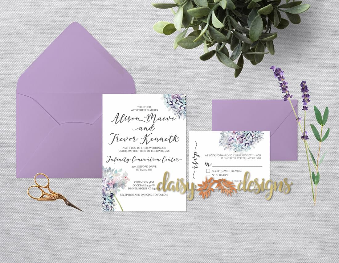 Calligraphy Hyacinth suite