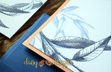 Willow Navy Blush glitter layer