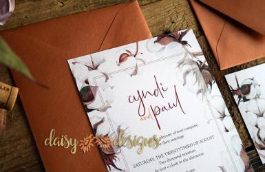 Cotton 'n Copper invite details