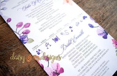 Orchids program details