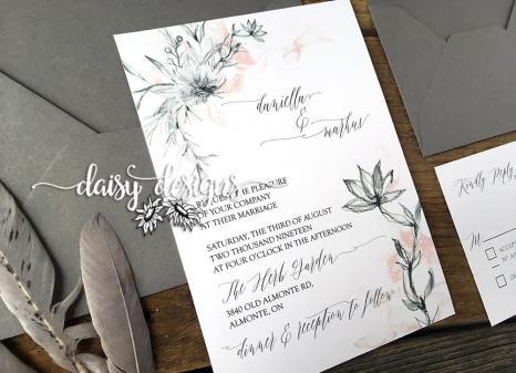 Grey Feather invite