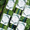 Suspended Greenery Seating Chart