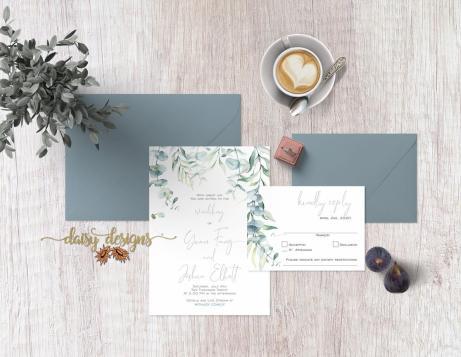 Watercolour Eucalyptus suite