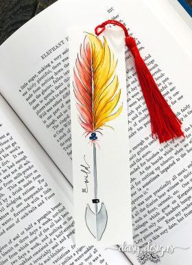 Be Wild Bookmark - Fire