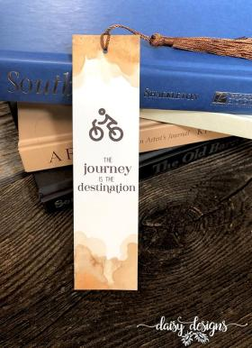 Journey Man Bookmark - Rust