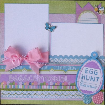 Scrapbook Island Design Team - January Project Page 2