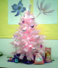 Gwen's Pink Christmas Tree