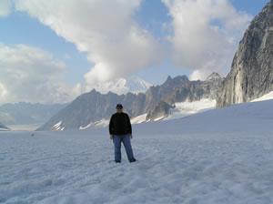 Me on the glacier!