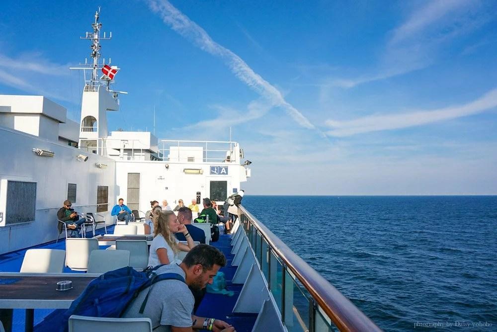 坐火車去旅行, IC36, 德鐵, 丹麥, 漢堡, 哥本哈根, 火車進船肚, 火車開進船, 火車海關, 海關檢查, 跨國列車