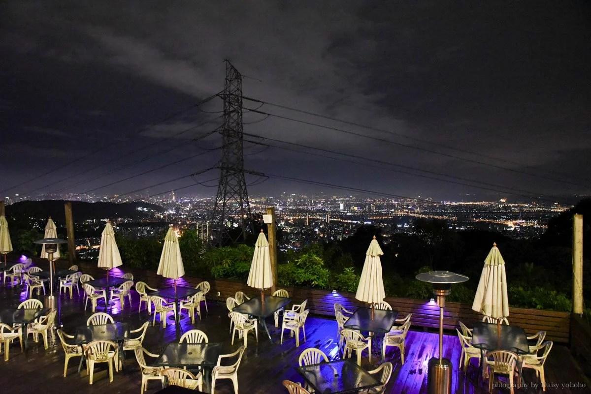夜景餐廳, 台北夜景, 後花園景觀餐廳, 陽明山夜景, 陽明山餐廳, 陽明山飲料