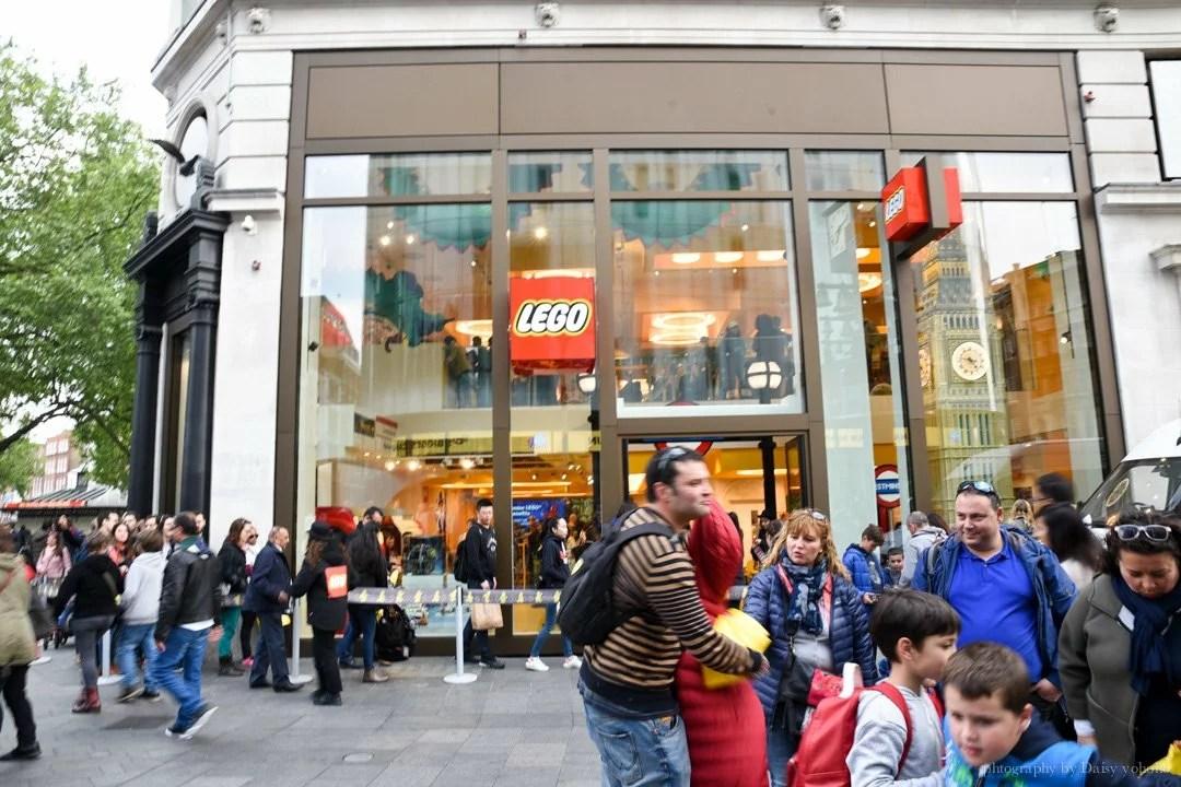 london-lego, 倫敦景點, 倫敦樂高, 樂高旗艦店, 英國景點, 英國倫敦自助旅行, SOHO區