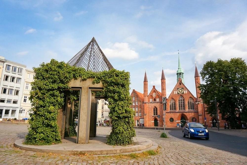lubeck, 呂北克, 德國小鎮, 德國自助旅行, 歐洲旅遊, 歐洲自助, 德國自由行, 呂貝克, 坐火車去旅行