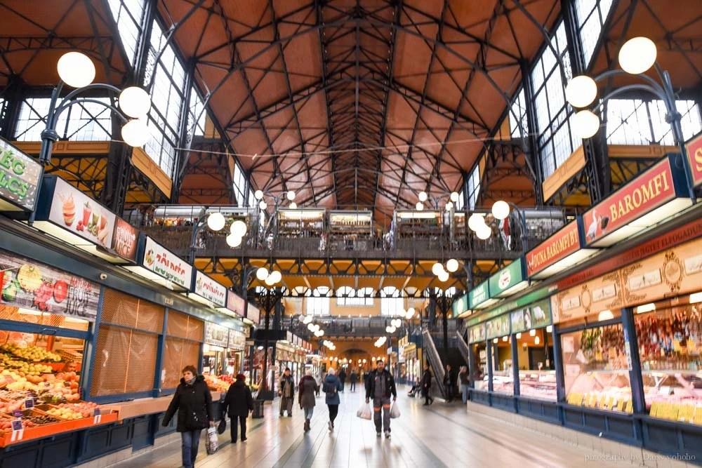 布達佩斯中央市場, 布達佩斯景點, 匈牙利自由行, 布達佩斯自助, 布達佩斯美食, 布達佩斯紅椒粉, LANGOS, 匈牙利pasta