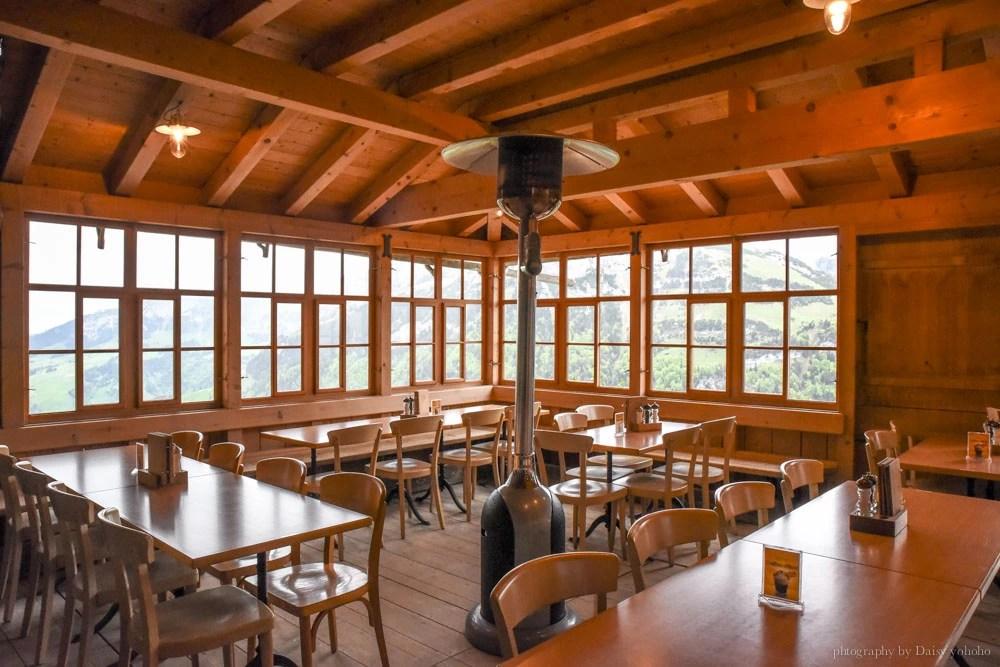 懸崖餐廳, 瑞士自助, 世紀最美餐廳, 瑞士自由行, 瑞士美食, 洞穴教堂, ebenalp, Appenzell, 阿彭策健行, Berggasthaus Aescher, 景觀餐廳