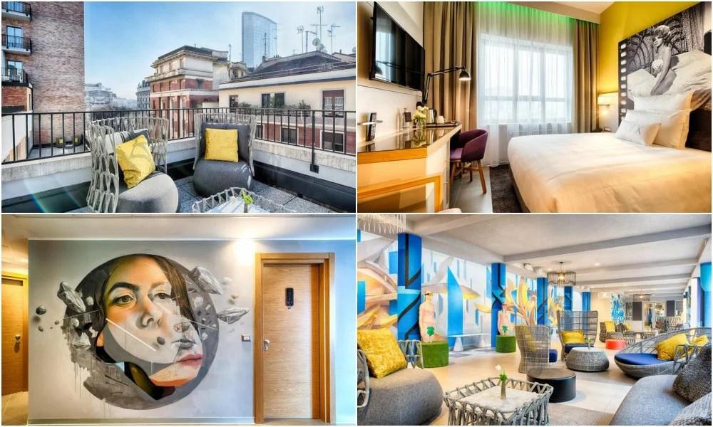 nyx-hotel, 米蘭住宿推薦, 義大利米蘭, 米蘭中央火車站, 米蘭大教堂, 米蘭設計酒店, 新穎風格, 現代風格