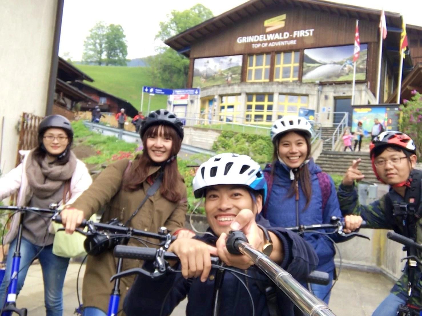 first scooter, First, 菲斯特, 少女峰區, 瑞士纜車, 卡丁車, 高空飛索, 滑板自行車, Grindelwald, 格林德瓦, 瑞士自助