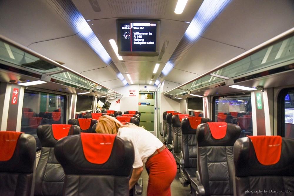 OBB Rail Jet, budapest Keleti, 布達佩斯火車站, 維也納交通, 布達佩斯交通, 布達佩斯自助, 坐火車去旅行, budapest-train