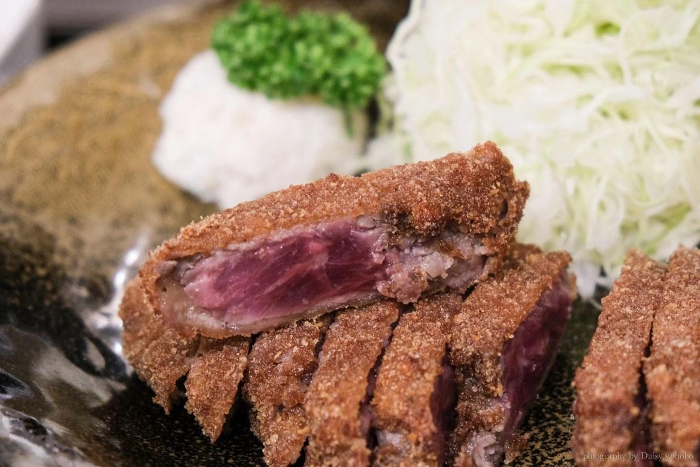 gyukatsu, 炸牛排, 難波美食, 大阪美食, 本村炸牛排