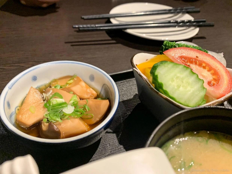 敦南美食, 千松谷日式料理, 商業午餐, 臥龍街, 生魚片蓋飯, 日式定食
