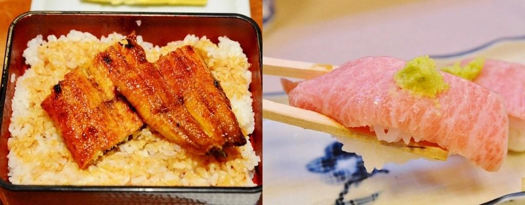 關西美食, 心齋橋美食, 道頓崛美食, 日本橋站, 鰻魚飯, 大興壽司, 海鮮丼飯