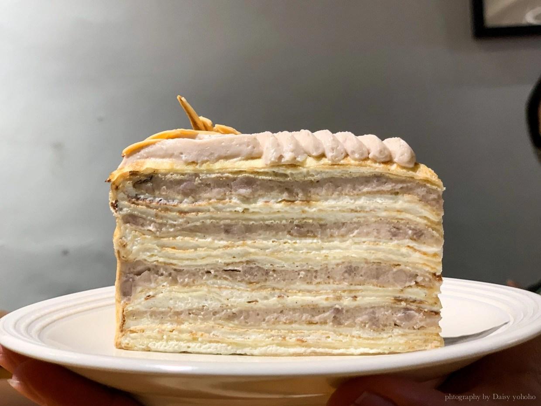 生活在他方, 千層蛋糕, elsewhere cafe, 中正紀念堂美食, 中正紀念堂下午茶, 繪本咖啡館, 甜點, 芋頭千層, 抹茶千層