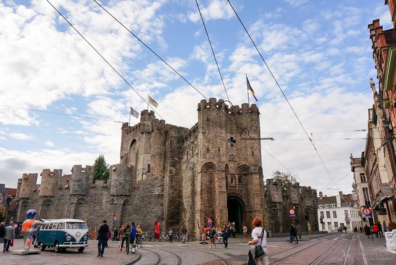 根特一日遊, 伯爵城堡, 比利時根特, 根特自由行, 根特自助旅行, 根特景點, 比利時旅遊, 比利時自助