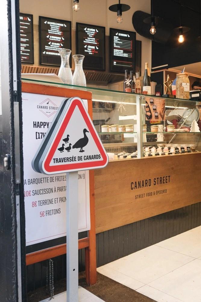 Canard Street, 法國油封鴨腿, 鴨肉漢堡, 里爾美食, 法國美食, 油封鴨漢堡, 法國平價連鎖餐廳