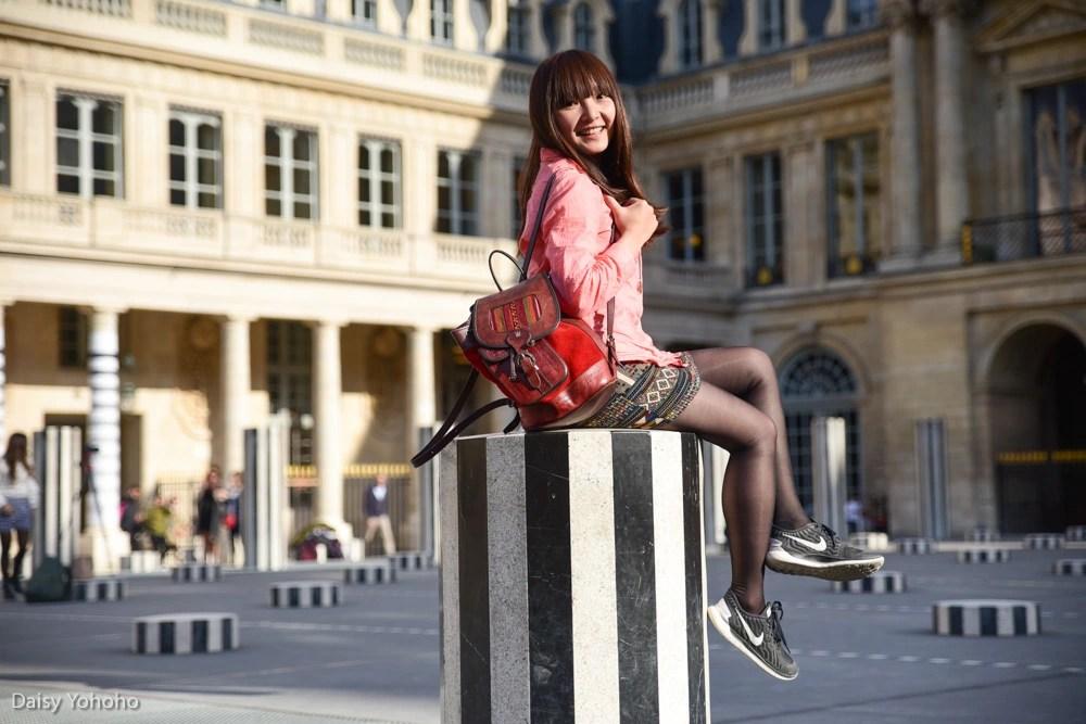 Daniel Buren柱, 黑白柱, 皇家宫殿, Palais Royal, 現代柱子作品, 兩個平台, Les Deux Plateaux, 巴黎景點, 巴黎網美景點