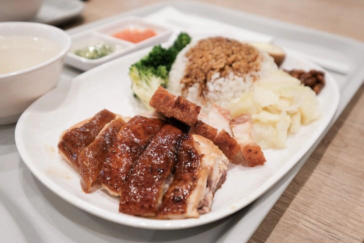 liaofan 2 - 臺北101美食街 | 了凡油雞飯‧麵,新加坡米其林一星小吃!招牌油雞飯