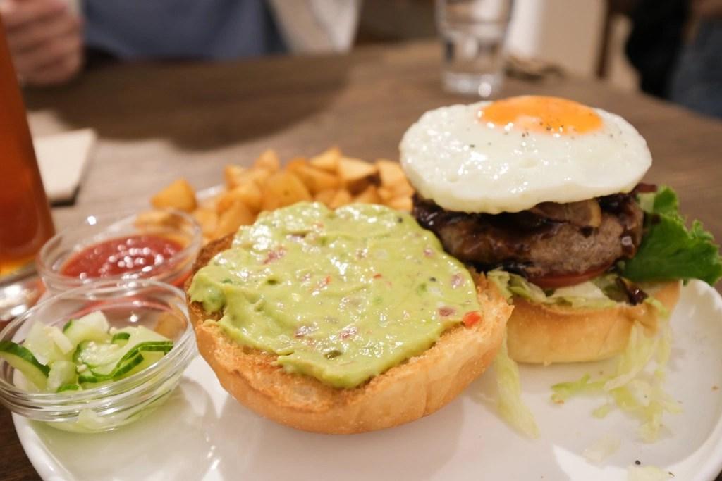 wakuwaku漢堡中山店, 誠品南西美食, 中山站漢堡, 中山站美食, 中山站早午餐