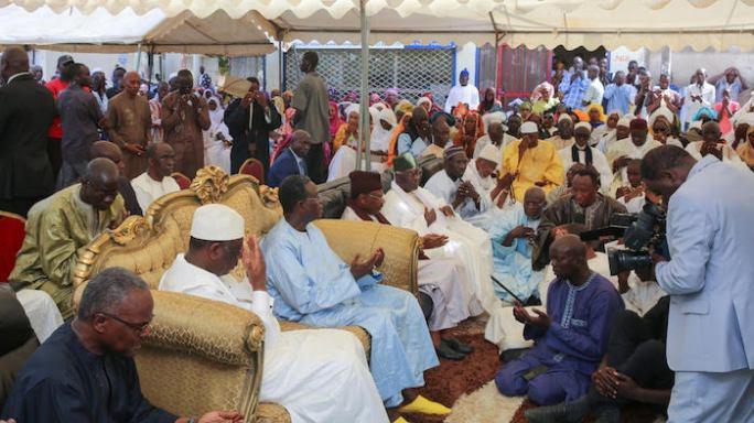 Le Président Macky Sall a présenté les condoléances de la nation à la famille de Serigne Alioune Mbacké Gaïndé Fatma