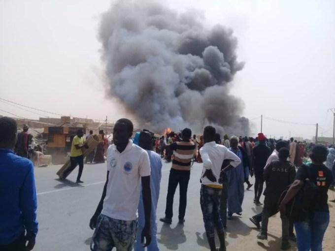 Urgent / Ross-Béthio : Un violent incendie ravage le marché