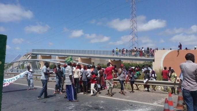 Passerelle de Cambérène : un camion heurte le pont