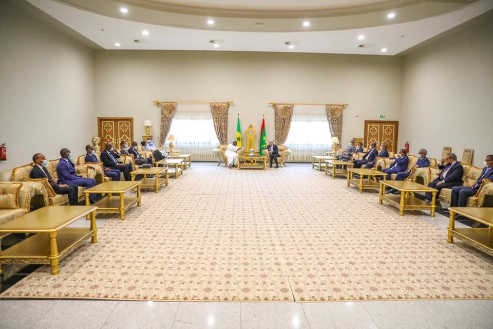 Macky et Marie%CC%80me Faye Sall a%CC%80 Nouakchott2 - Senenews - Actualité au Sénégal, Politique, Économie, Sport