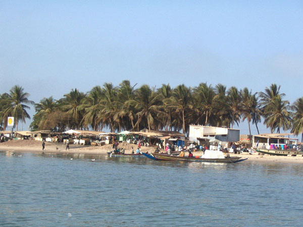Village de pêcheur de Djiffer