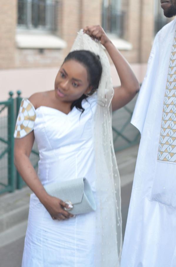 Le petit fils du khalif de Thienaba Ibrahima Ndiaye s'est marié avec la fille de l'ex ministre Nafy Ngom