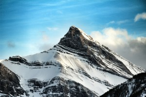 Little sister Hope, Three Sisters, Canmore, Alberta