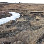sloughing, spring, water, Chaffen Creek