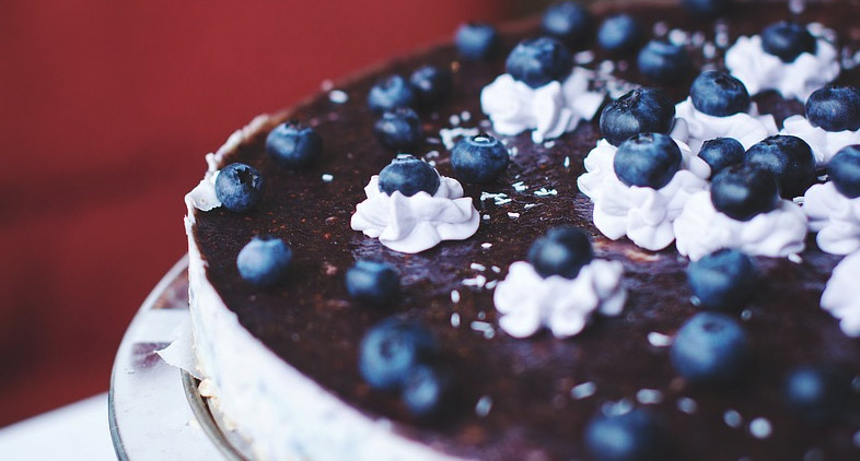 Blueberry Cottage Cheese Cake