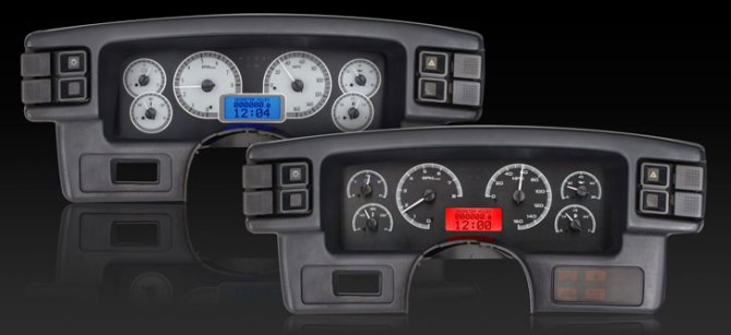 1987 89 ford mustang vhx instruments