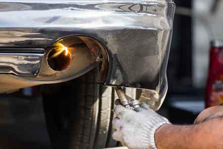 exhaust repair littleton muffler