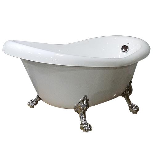 DS-2502W legged bathroom tub