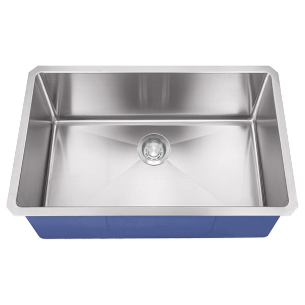 "Dakota Signature Series 30"" x 18"" Micro Radius Undermount 16 Gauge Stainless Steel Sink"