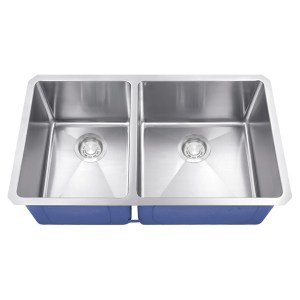 Dakota Signature Series 40/60 Micro Radius Undermount 16 Gauge Stainless Steel Sink