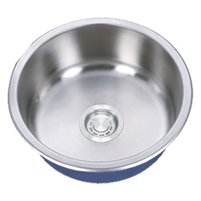 "Dakota Signature Series 16"" Standard Radius Round Undermount 16 Gauge Stainless Steel Sink"