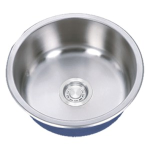 "Dakota Signature Series 16"" Standard Radius Round Undermount 16 Gauge Stainless Steel Sink"