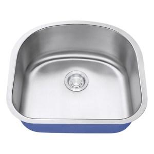 "Dakota Signature Series 23"" x 21"" Standard Radius Undermount 16 Gauge Stainless Steel Sink"